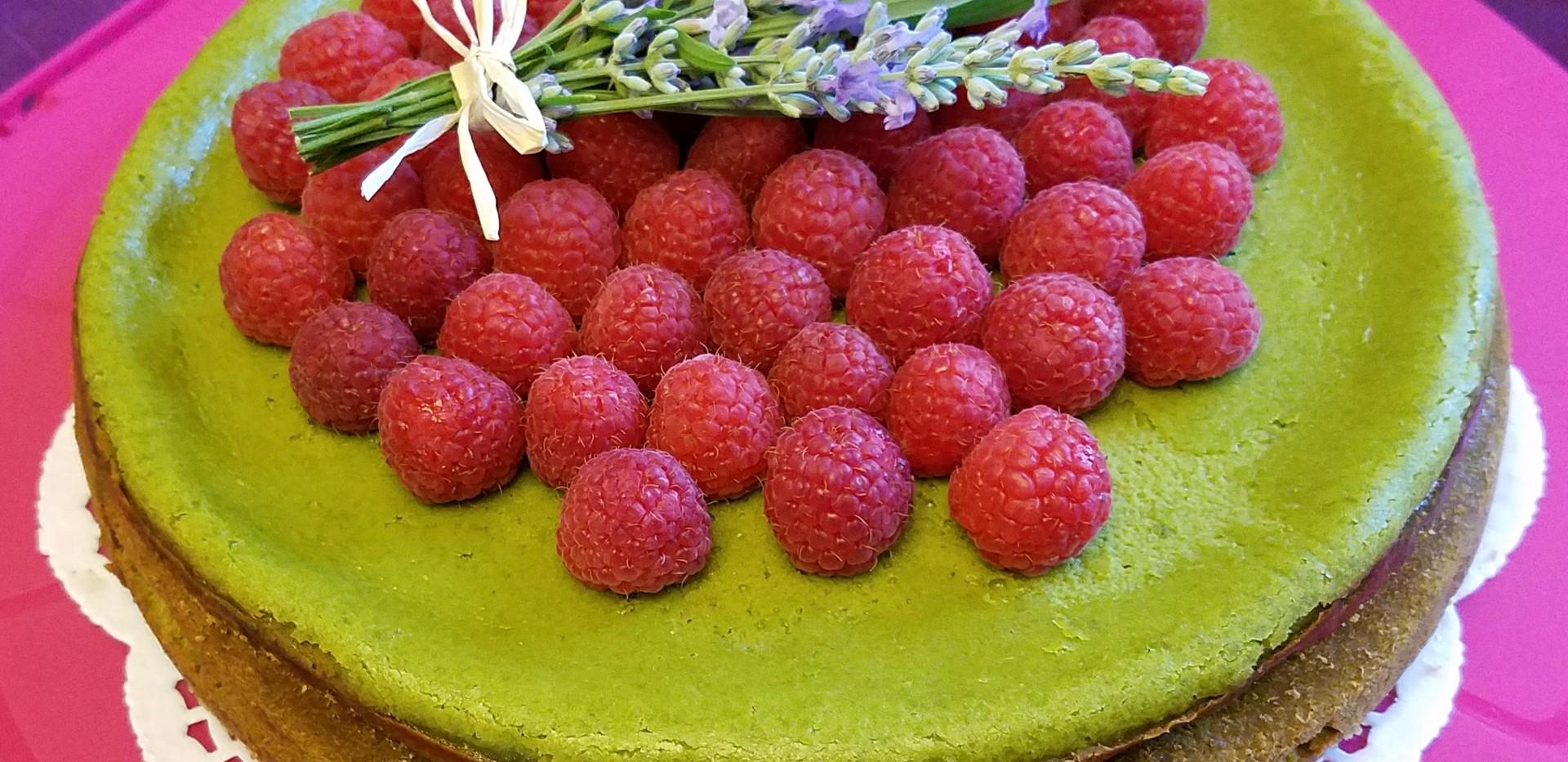 Large Matcha Cheesecake