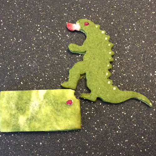 Godzilla in Kansas Matcha Cookies (2 pcs.)