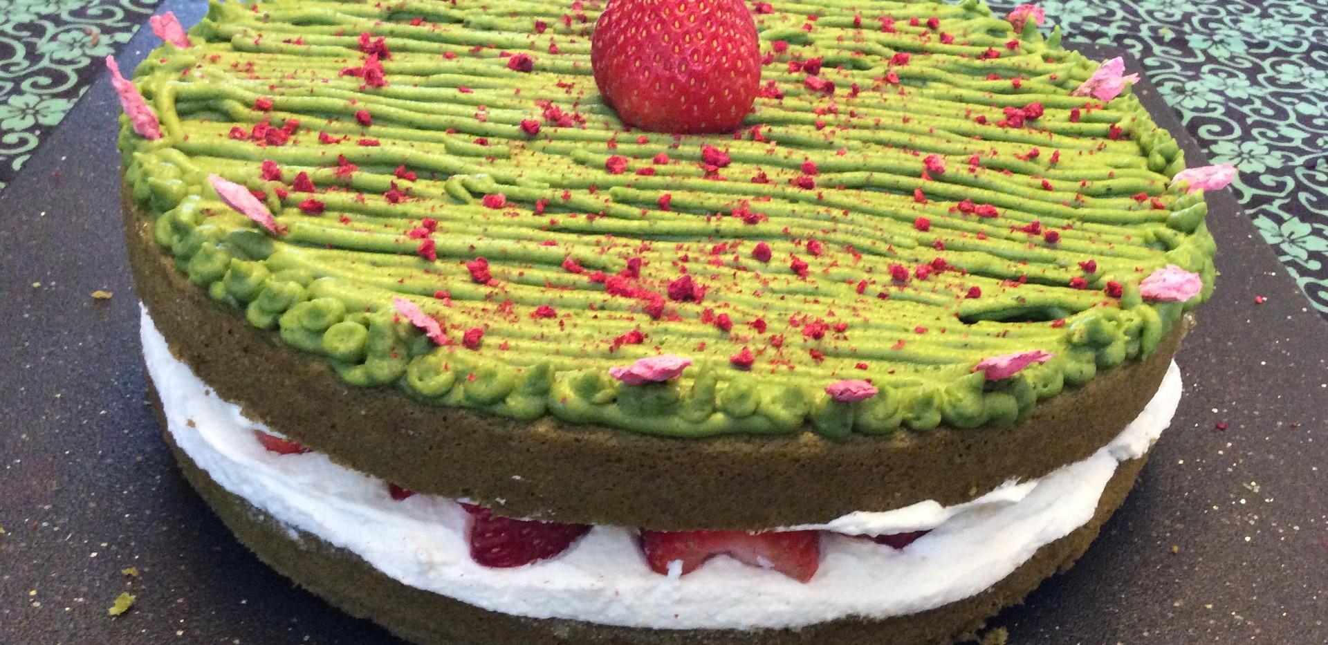 Matcha Layer Cake