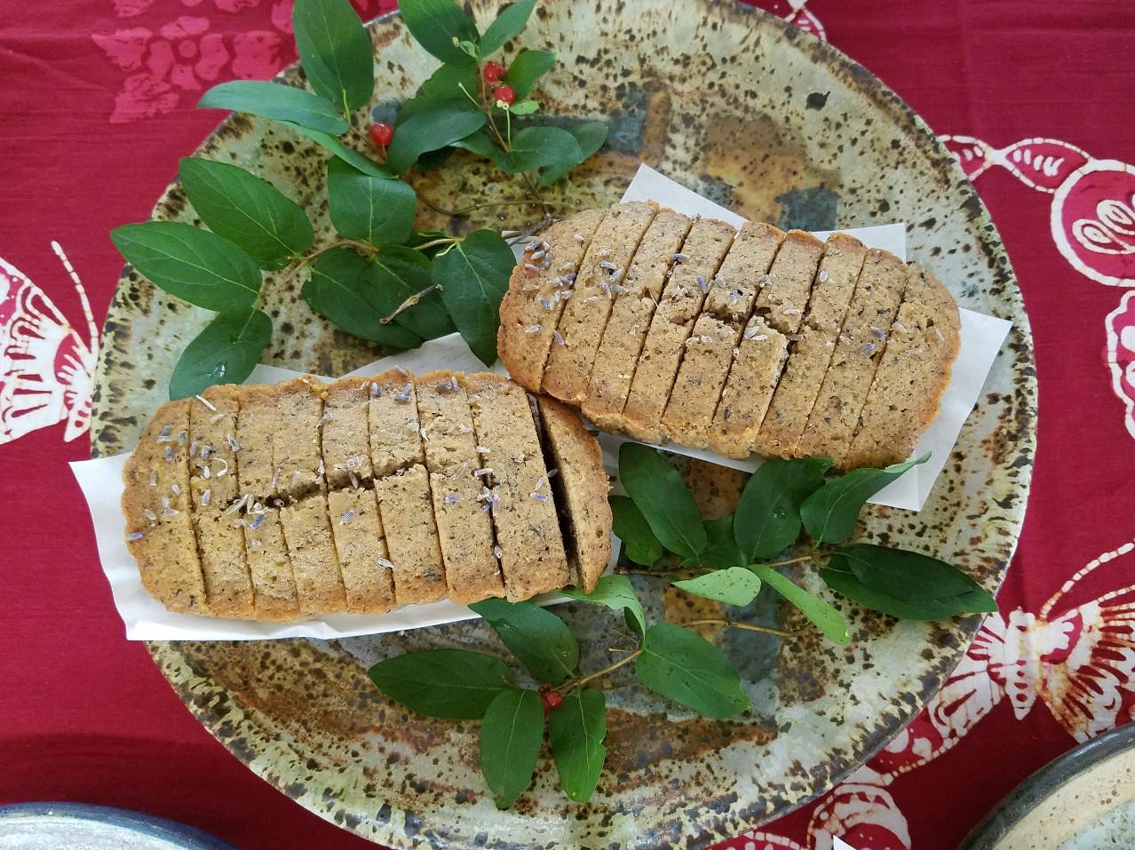 Earl Grey Lavender Cake Loaves