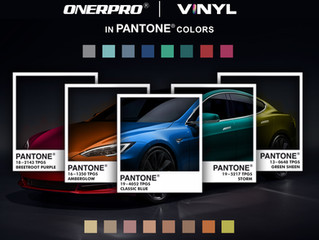 ONERPRO VINYL in PANTONE Colors