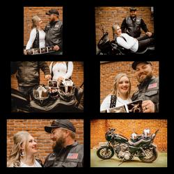 Harley Davidson Baby Announcement