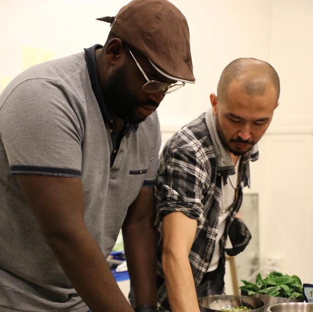 L'Atelier Pizza organisé par Abbas