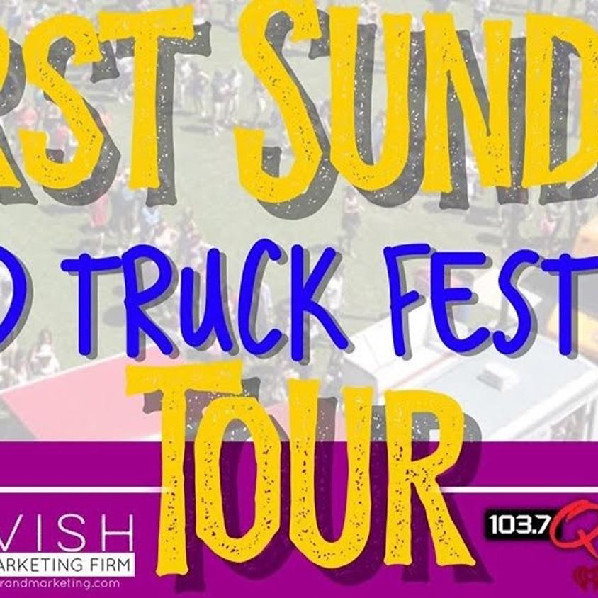 LAVISH PR and Marketing 1st Sunday Food Truck Tour