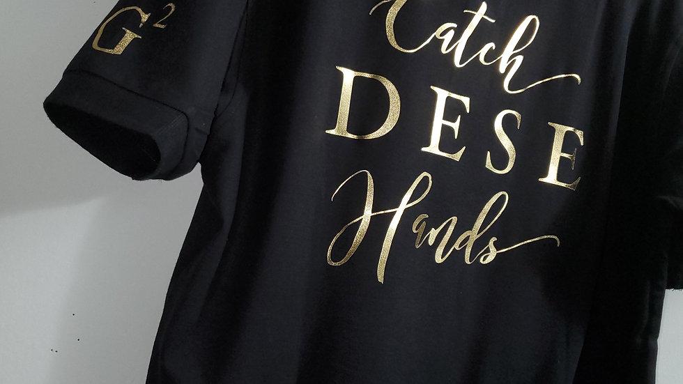Catch Dese Hands Collar Shirt