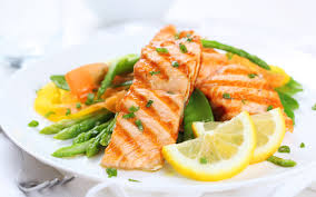 salmon lemon high