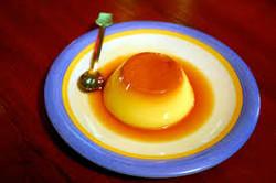flan caramel high