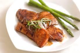 filete de cerdo con asperges