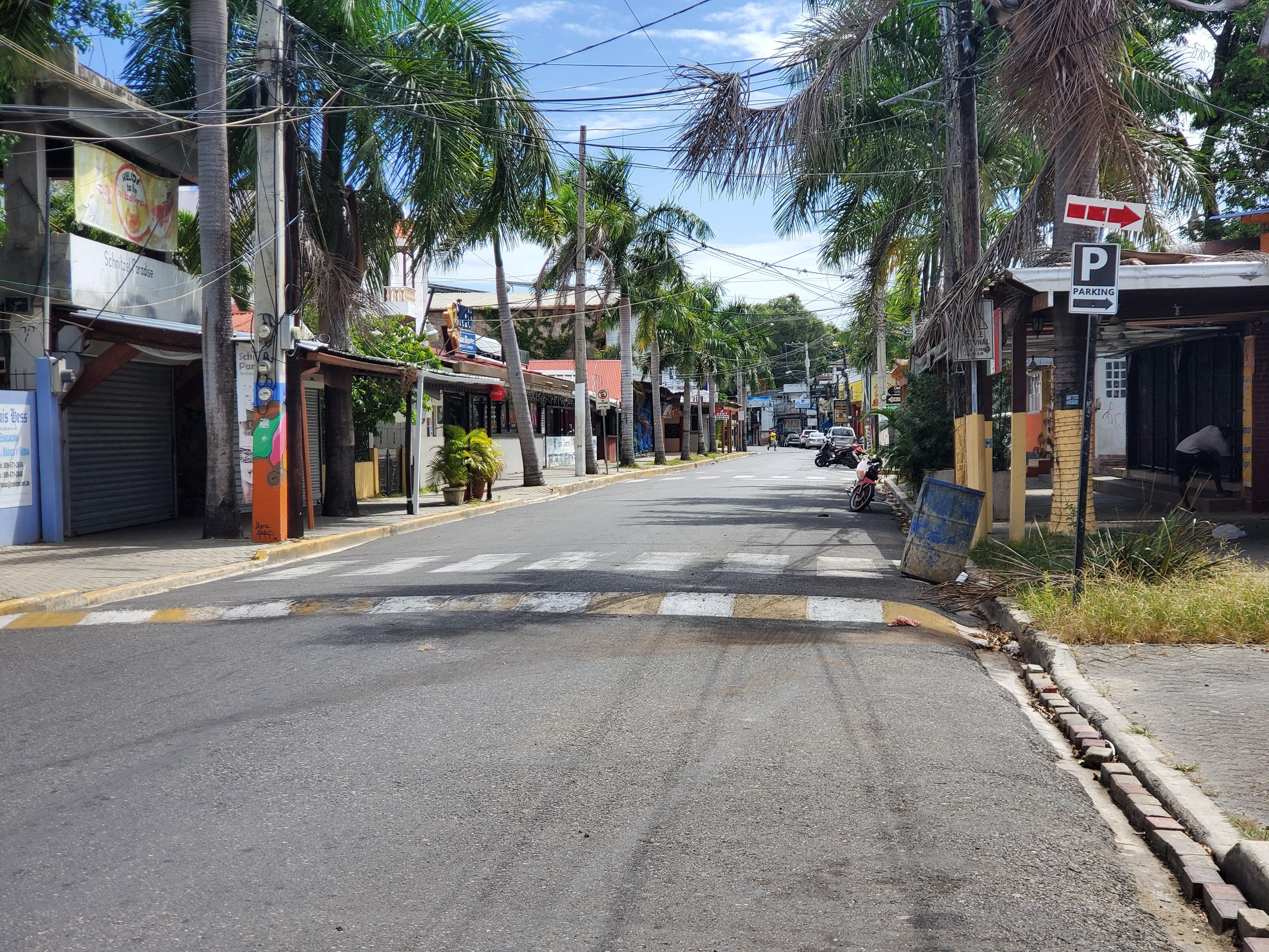 Street in Sosua