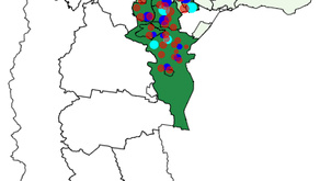 Geospatial analysis in Stata: Mapping multiple variables