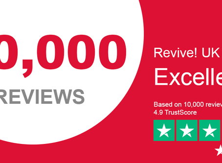 10,000 Reasons to Choose Revive!