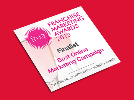Revive! UK announced as finalist in the Franchise Marketing Awards 2019