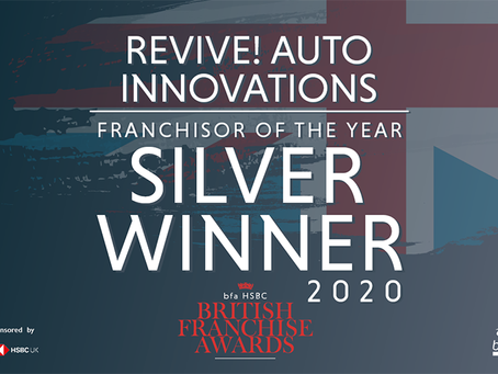 Revive! Claims Silver Franchisor of the Year Award at British Franchise Awards