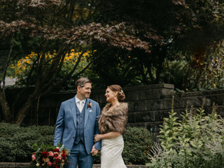 Colette and Bill's Dreamy Backyard Wedding!