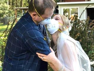 Kim and Peter's Amazing Virtual Wedding!