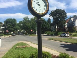 Bayside Hills clock completely restored