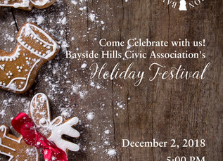 Come Celebrate with us! Bayside Hills Civic Association's