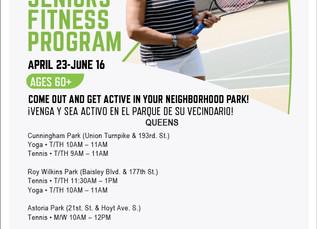 Free Seniors Fitness Program