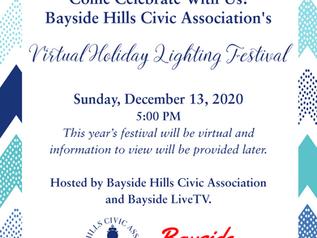 BHCA 2020 Holiday Lighting Festival, Dec 13, 2020 5:00 PM