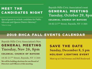 BHCA Fall postcard