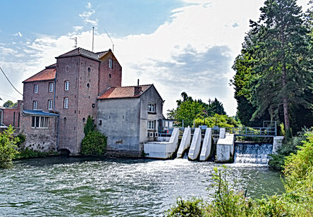 Moulin barrage
