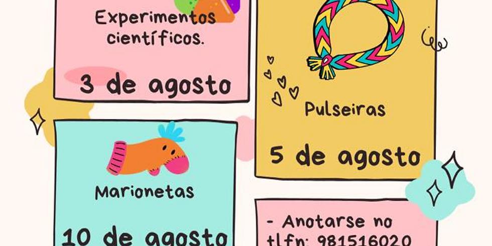 """Obradoiro: """"Marionetas"""" - Concello de Boimorto"""