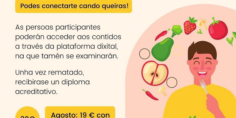 Curso en Liña: Manipulador de Alimentos - Concello de Sobrado