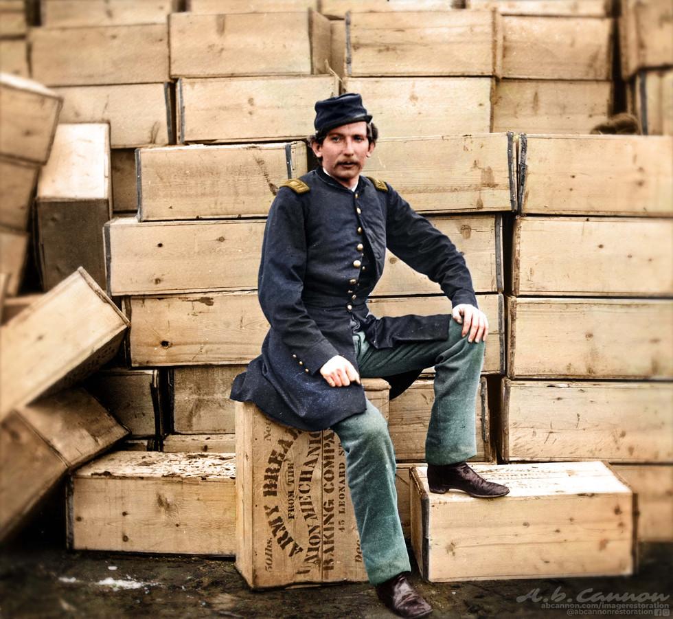 Union Captain J.W. Forsyth