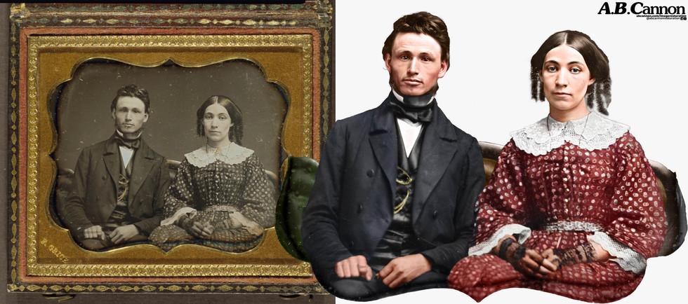 Couple Circa 1863