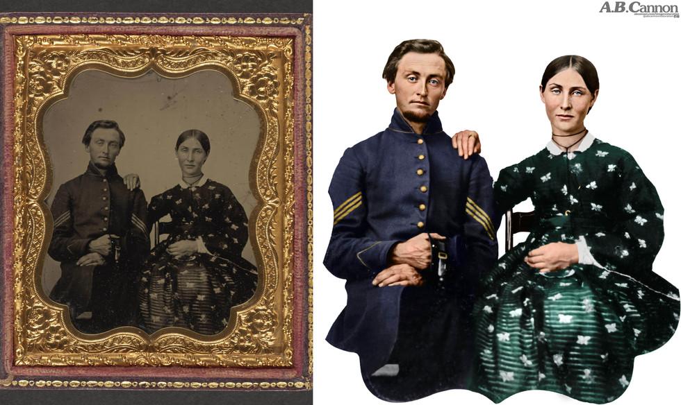 Couple Circa 1865