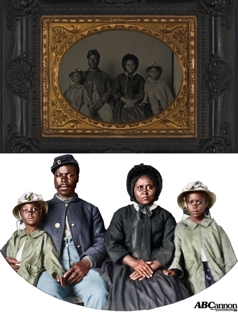 Family, circa 1865
