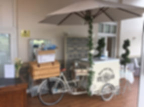 Ice Cream Bike Hired At The Wroxeter