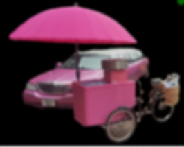 Pink Limo & Candy Floss Cart Hire