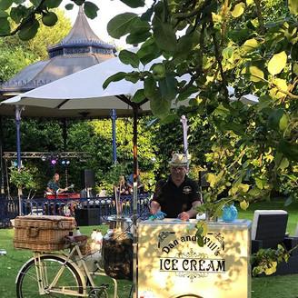 Ice Cream Bike On Wedding.