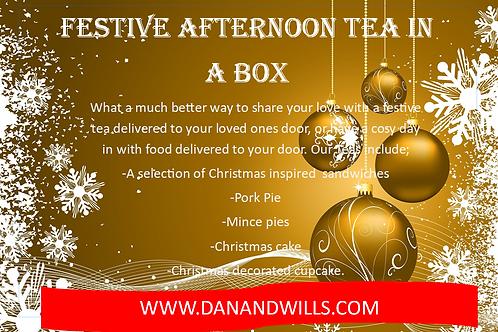 Festive tea