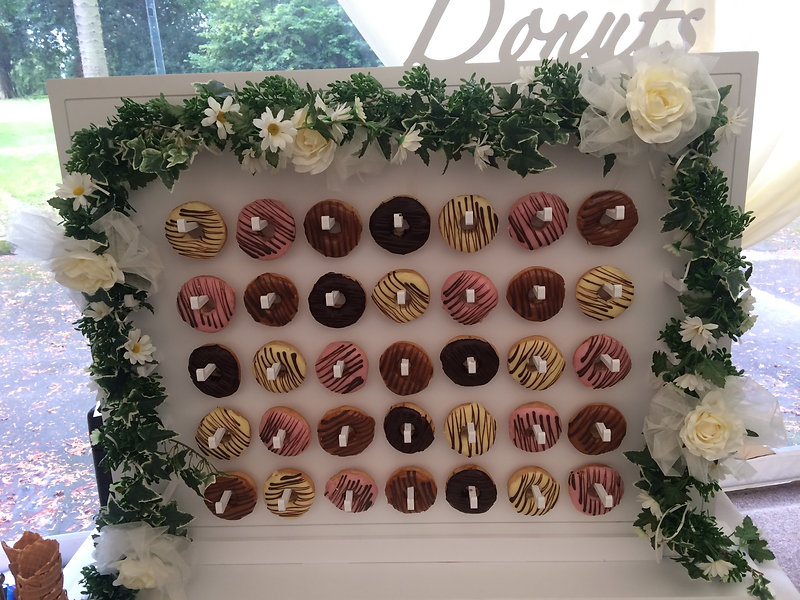 Donut Wall Hire | Dan And Wills