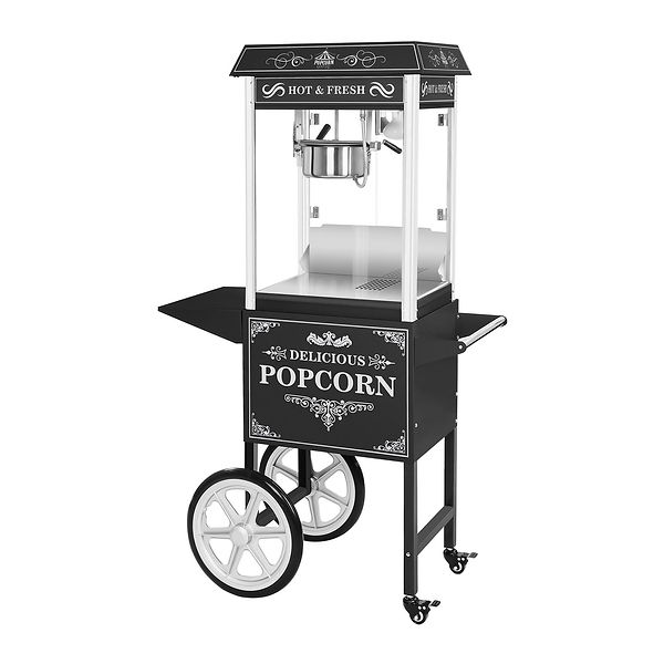 Popcorn Cart Hire Dan & Wills