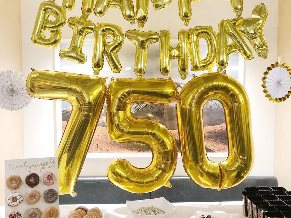 WeWork 750 Lex 1 Year Anniversary