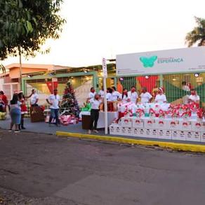 Tecol realiza ação de solidariedade a instituição de Campo Grande