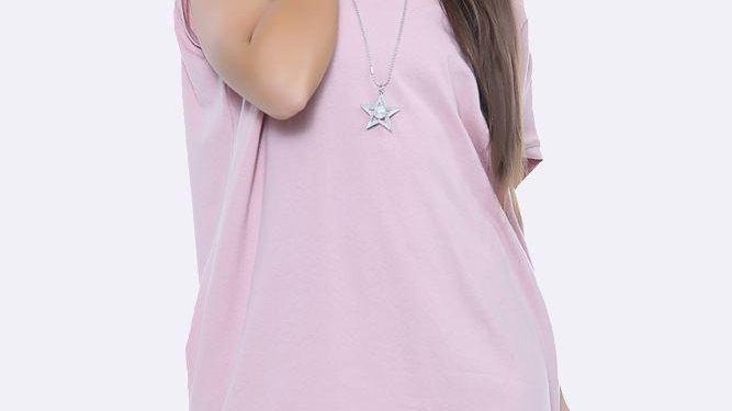 Pink Necklace T Shirt / Dress