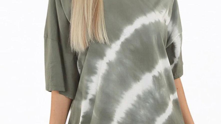 Tie Dye T Shirt Dress