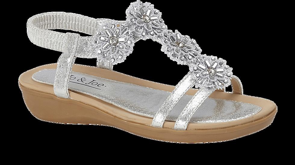 Lagoon Silver Sandal