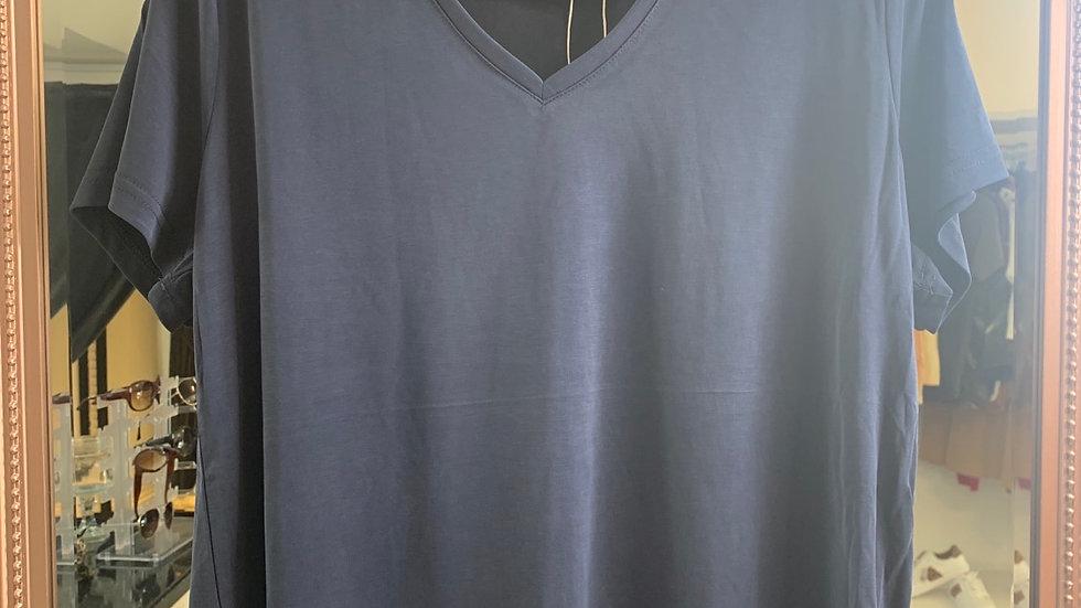 Fransa T-Shirt - Dark Peacoat