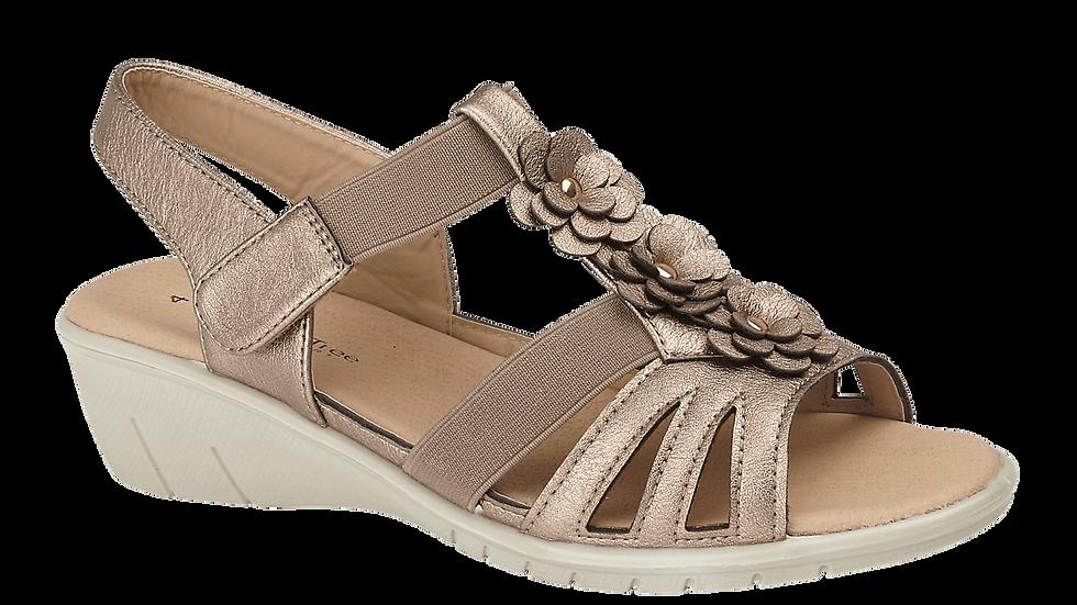 Radiance Bronze Sandal