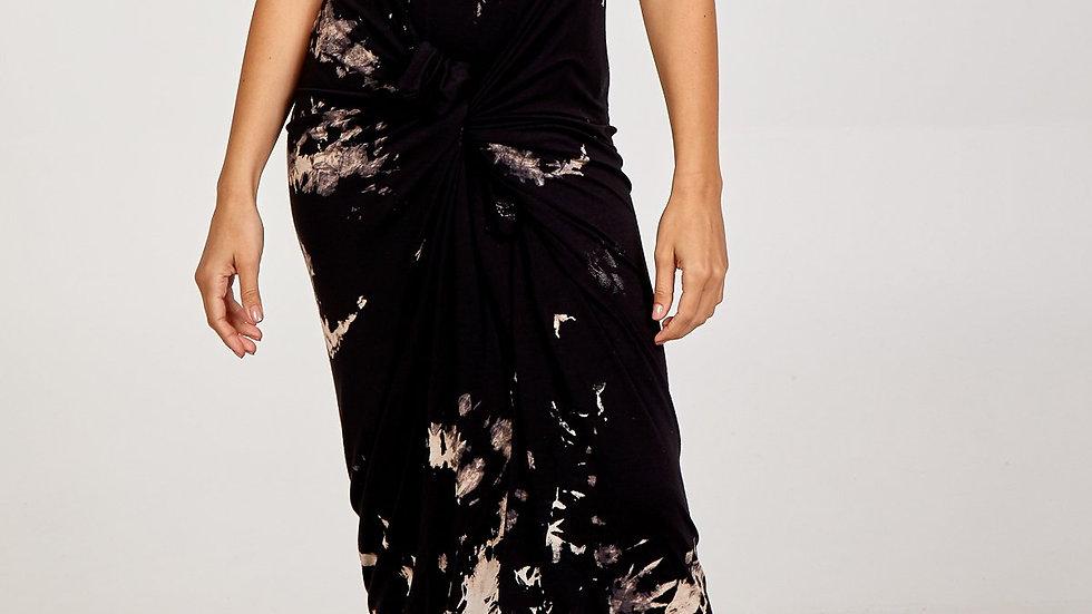 Cap Sleeve Tye Dye Parachute Dress