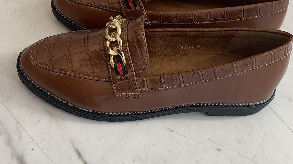 Croc loafers