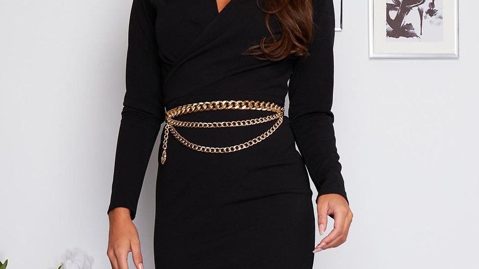 Josephine Belted Dress