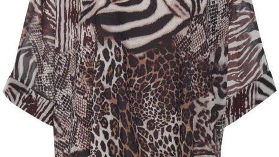 Fransa Animal-Patterned Sweater