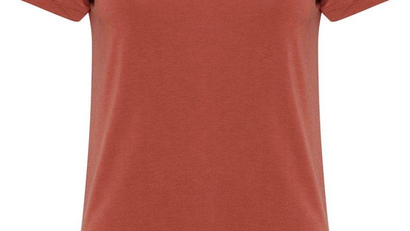 Fransa T-Shirt - Barn Red