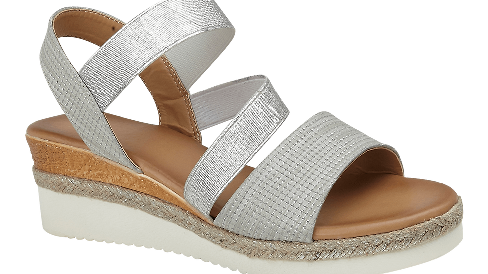 Trinidad Silver Sandal